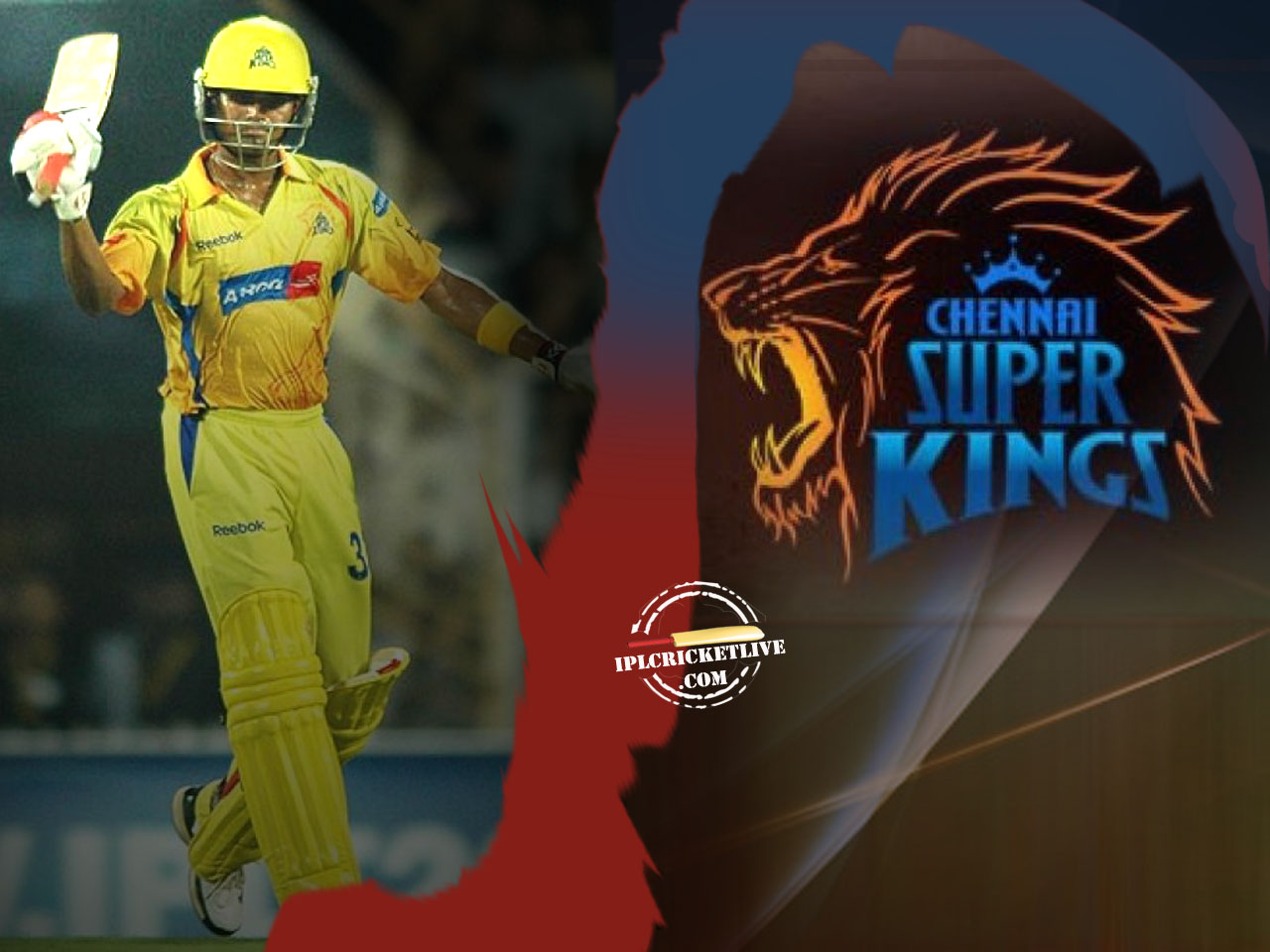 Runner- Up – Chennai SuperKings Wallpaper