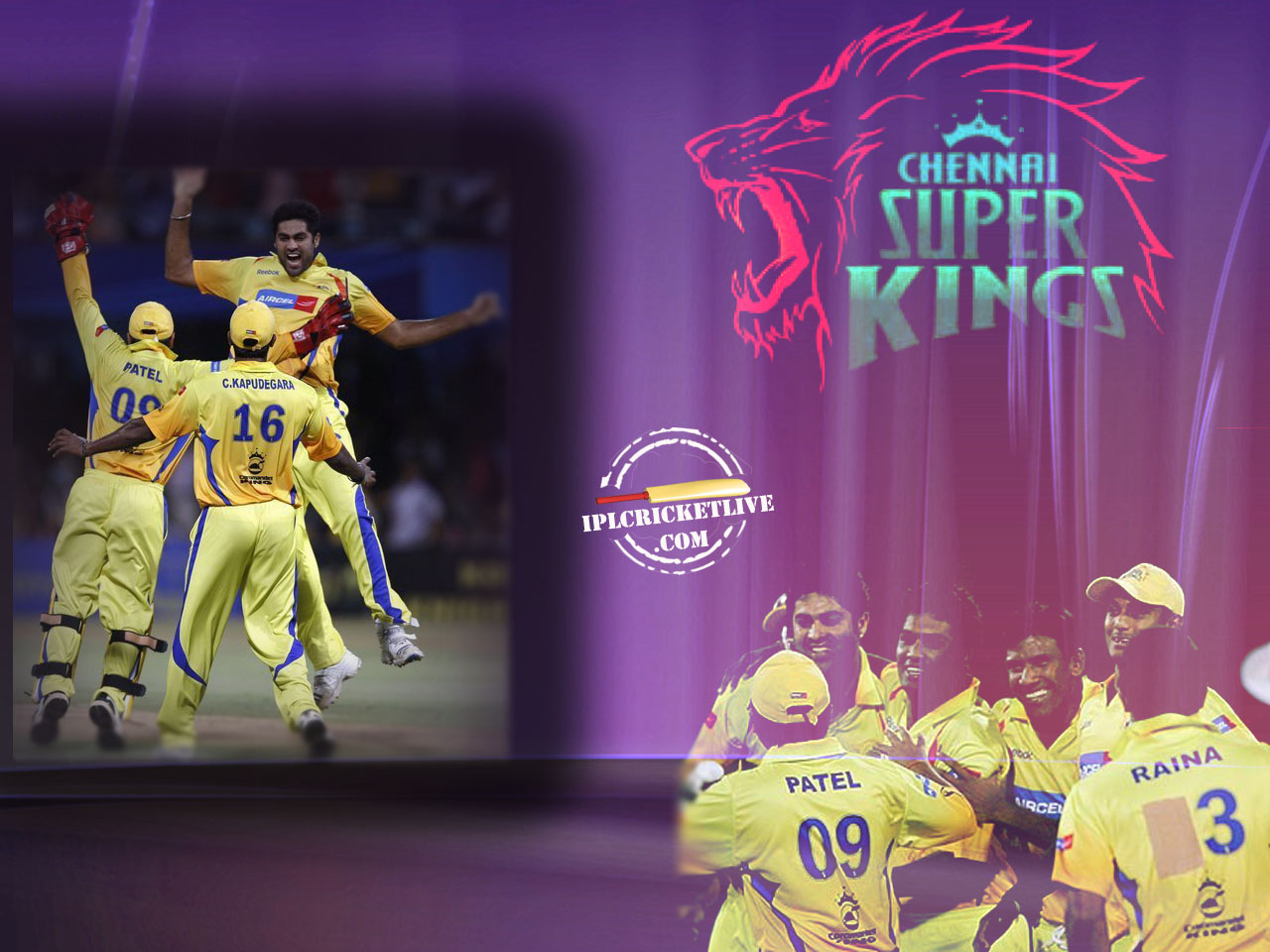 Super Kings Wallpaper