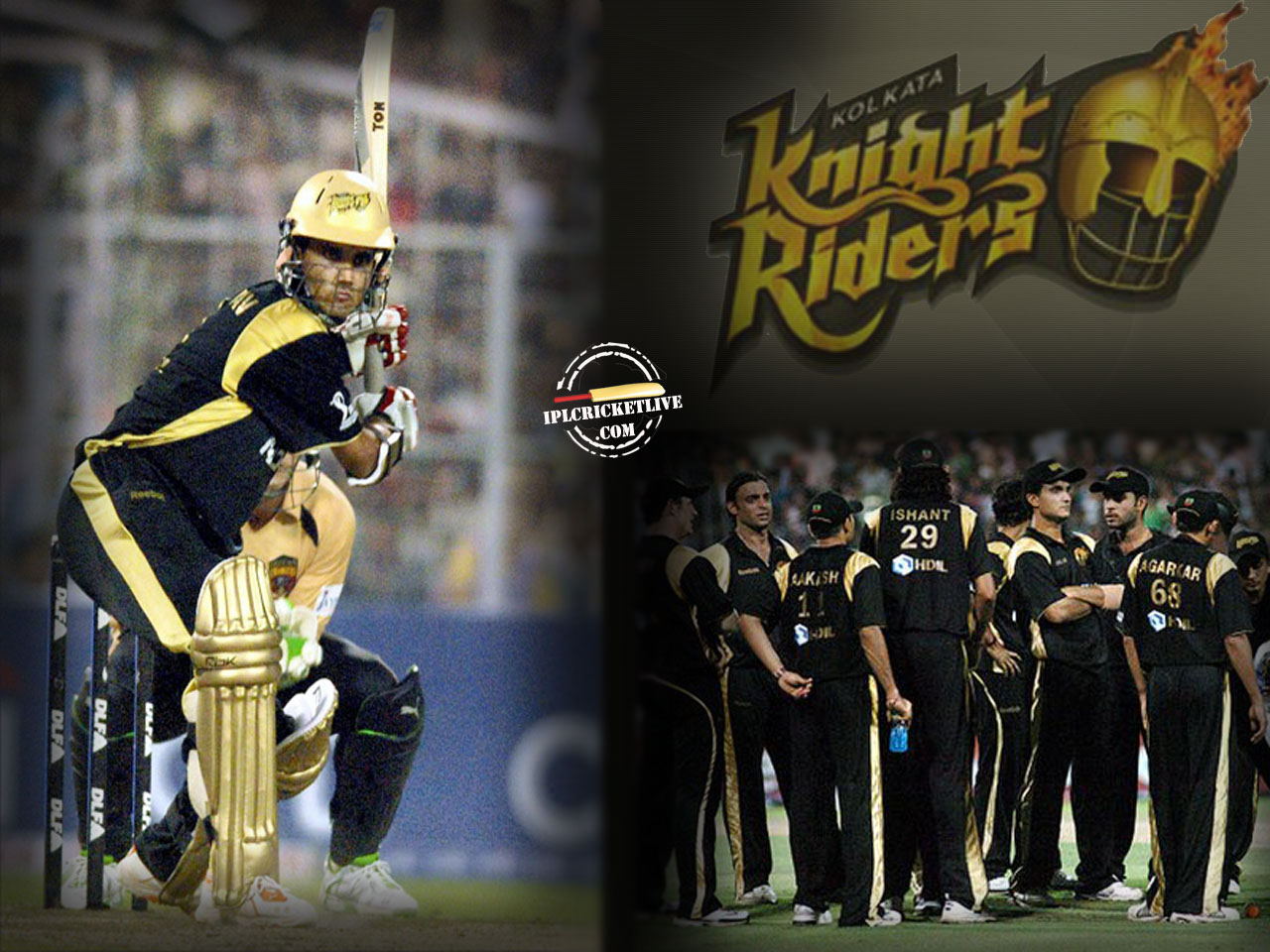 IPL 2016, Indian Premier League 2016 - Kolkata Knight Riders Wallpaper
