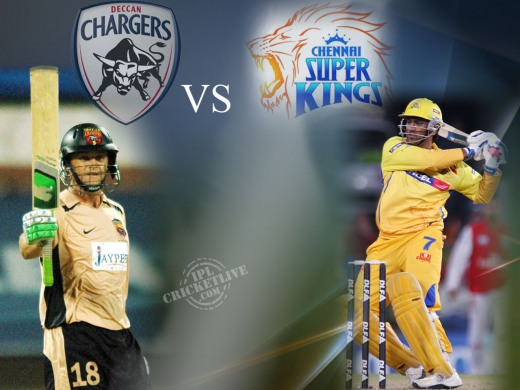 Semi Final 2 Deccan Chargers vs Chennai Super Kings