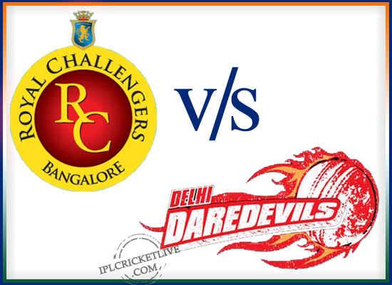 Match-67 Delhi Daredevils v Royal Challengers Bangalore