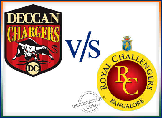 Match-71 Deccan Chargers v Royal Challengers Bangalore