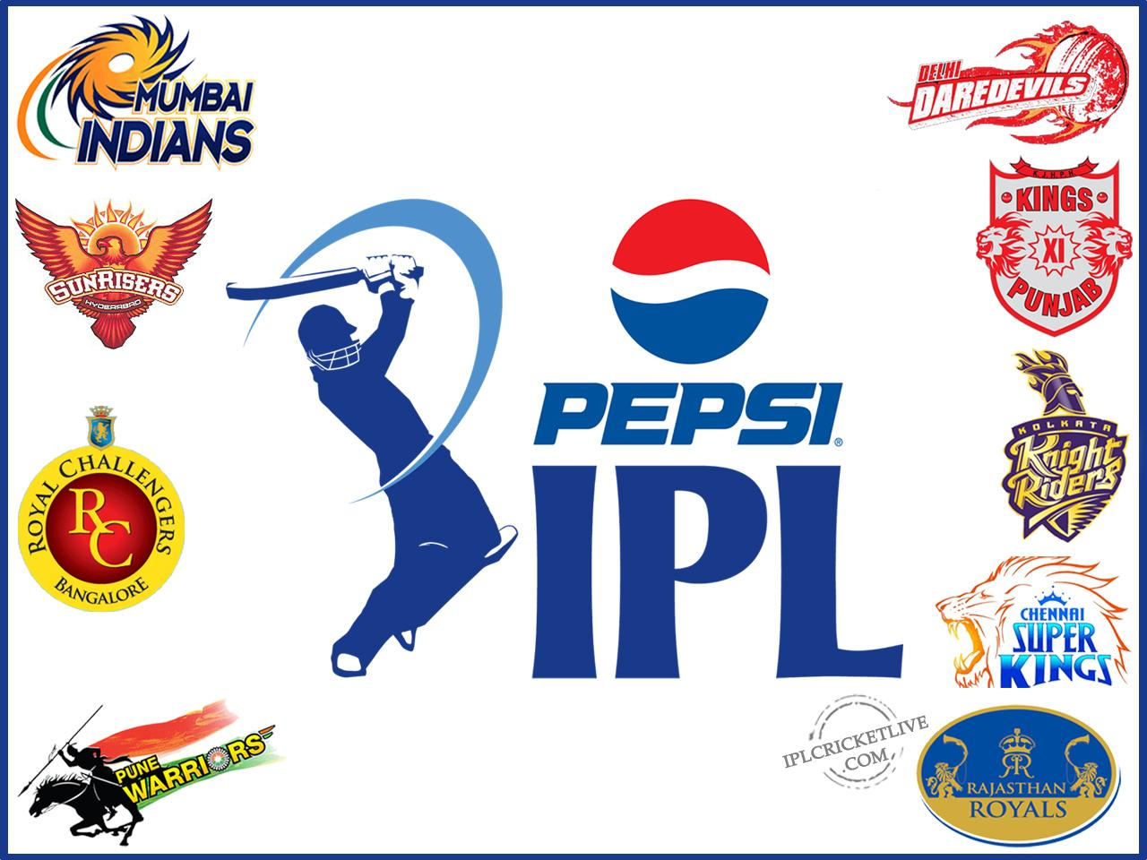 will take on each other in the sixth edition of PepsiCo IPL 2013