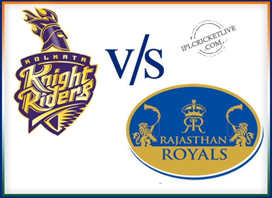 Match-8-Rajasthan Royals v Kolkata Knight Riders