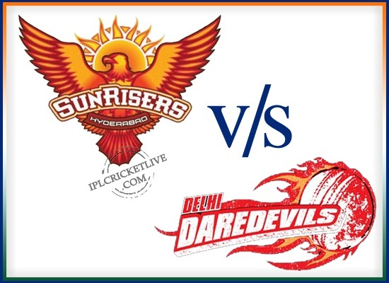 match-48 Sunrisers Hyderabad v Delhi Daredevils