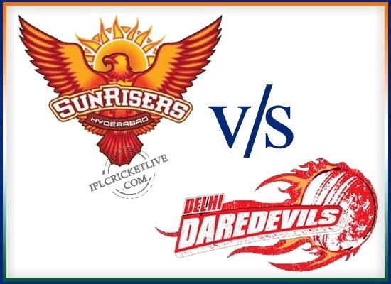 match-48 Sunrisers Hyderabad v Delhi Daredevils