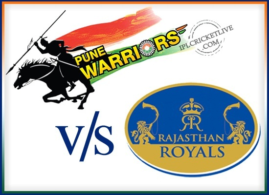 match-50 Rajasthan Royals v Pune Warriors