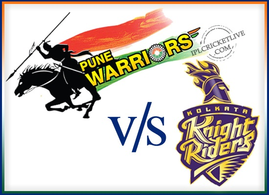 match-65 Kolkata Knight Riders v Pune Warriors