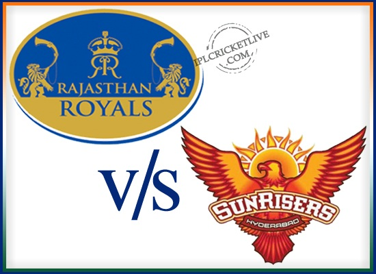 match eliminator Sunrisers Hyderabad v Rajasthan Royals