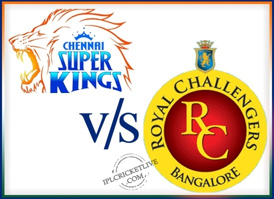 match-70 Royal Challengers Bangalore v Chennai Super Kings