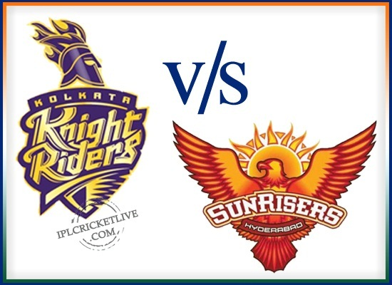 match-72 Sunrisers Hyderabad v Kolkata Knight Riders