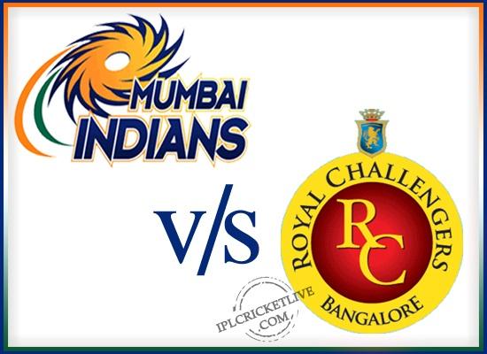 Match16-Royal Challengers Bangalore v Mumbai Indians