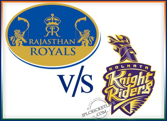 match 25-Rajsthan royals-vs-Kolkatta knight riders