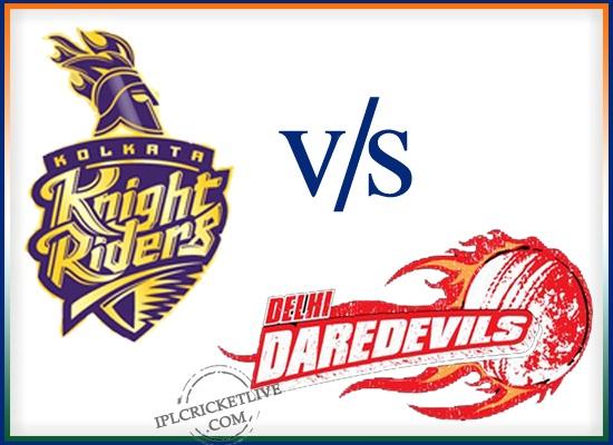 match 28-Kolkata Knight Riders v Delhi Daredevils