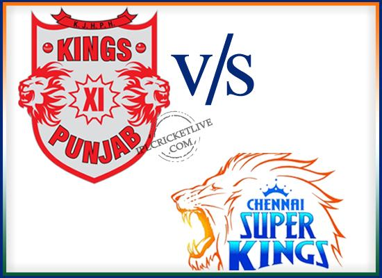 match 53-Chennai super kings-vs-kings XI Punjab