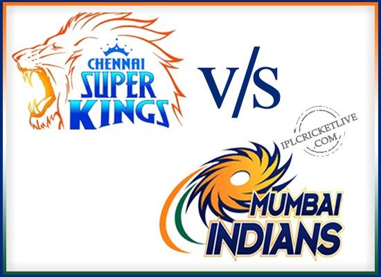 IPL FInal-Chennai Super Kings v Mumbai Indians