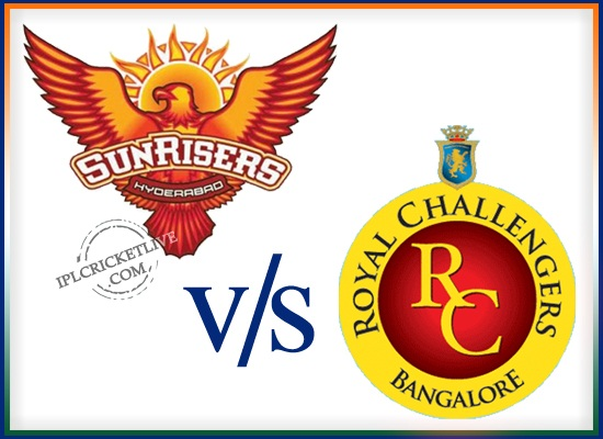 match 52-Sunrisers Hyderabad v Royal Challengers Bangalore