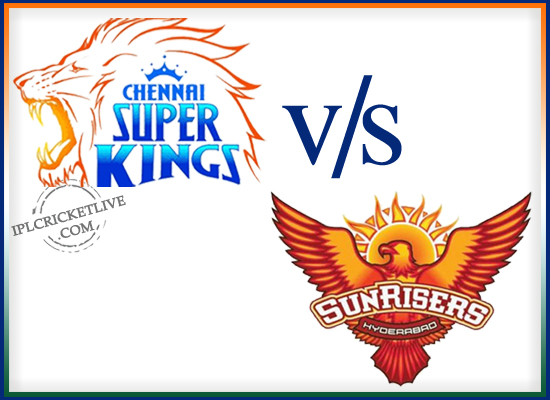 match 50-Sunrisers Hyderabad v Chennai Super Kings