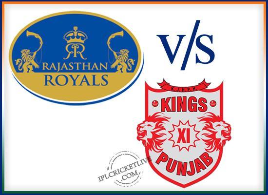 match 52-Rajsthan royals-vs-kings XI punjab