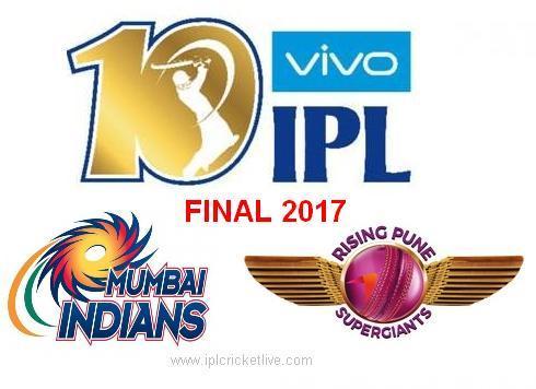 IPL 2017 Final